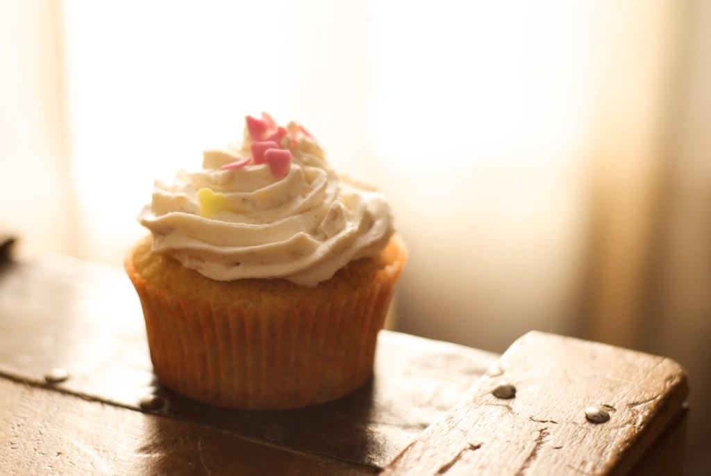 Cupcakes de Naranja - Orange Cupcake