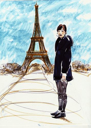 Anne in Paris, version 1