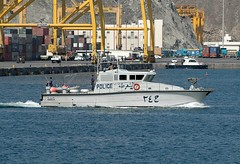 Harbour Police (Gerry Hill) Tags: cruise harbor persian gulf harbour navy coastal oman muscat defence patrol seas brilliance mutrah gunboat
