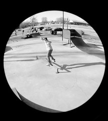 We are young, but we have heart. (xfidelity) Tags: skating ramps nike fisheye skatepark rails bryant skinnyjeans canonxsrebel