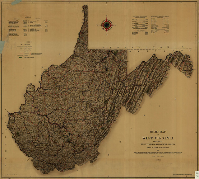 Model Trains & Geography: West Virginia Railroad Follow Up