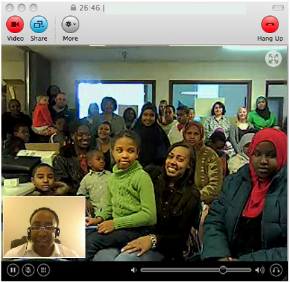 Skype Social Media Workshop with Hajj E. Flemings