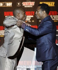 Floyd Mayweather Shane Mosley Press Conference