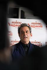 Ennio Fantastichini (Ezio Kroll) Tags: italy rome roma film d50 italia presentation 2010 ennio attori pelicola presentazione fantastichini minevaganti