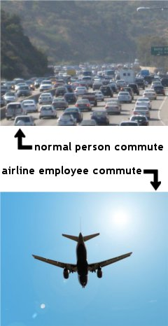 Airline Employee Commutes