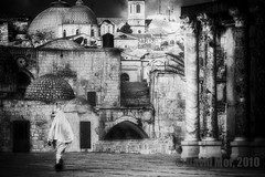 jerusalem syndrome (David Mor {mostly off}) Tags: bw church religiou