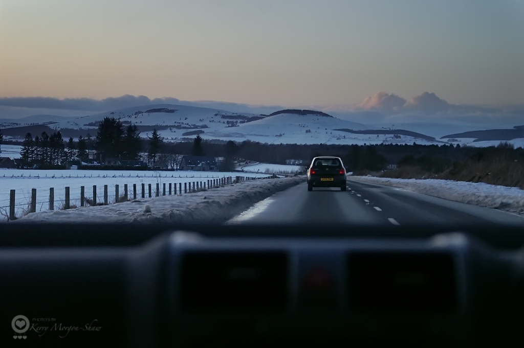 Drive from Aberdeen airport