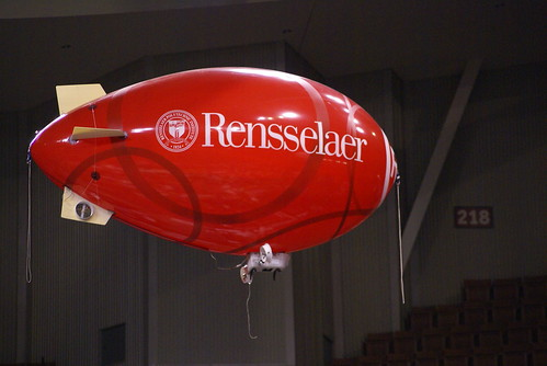 Red RPI blimp