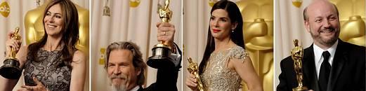 Premiados con los Oscars 2010