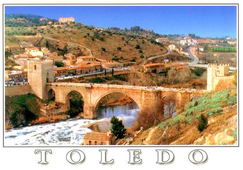 明信片-西班牙TOLEDO-1