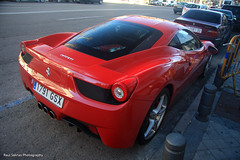 Ferrari 458 Italia (Raul Salinas) Tags: madrid road new red españa cars car canon photography eos amazing spain italia fast ferrari salinas spots exotic raul expensive scuderia exclusive supercar coches caros exotics 458 exoticos eor rapidos exclusivos 40d carspotter potentes autogespot