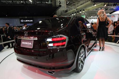 Honda City Concept Mod Rear