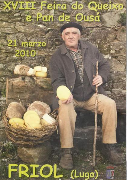 Feira do Queixo e Pan de Ousá 2010 - Friol - Lugo - 21 de marzo - cartel
