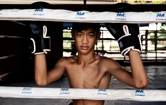 Young boxer in Chiang-Mai (Noor +) Tags: portrait thailand asia flickr thalande chiangmai asie boxing siam boxe muaythai thailande boxeur