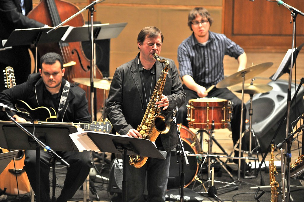 Chris Potter and the UT Jazz Orchestra