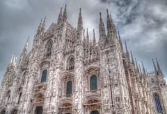 Duomo (James Warwood) Tags: milan clouds nikon cathedral milano duomo hdr photomatix d5000 hdraward pse8 jameswarwoodportfolio