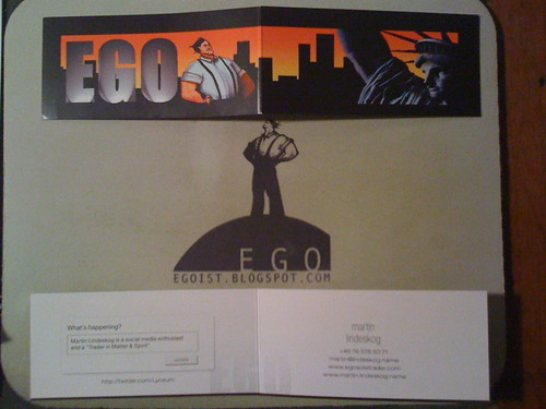 EGO business card