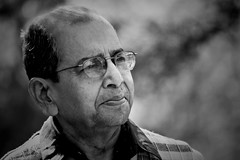 Contended (kalsnchats) Tags: old portrait blackandwhite man monochrome canon father content portraiture aged relaxed retired baba satisfied happyman fulfilled kalpana chatterjee 450d kalsnchats kalpanachatterjee