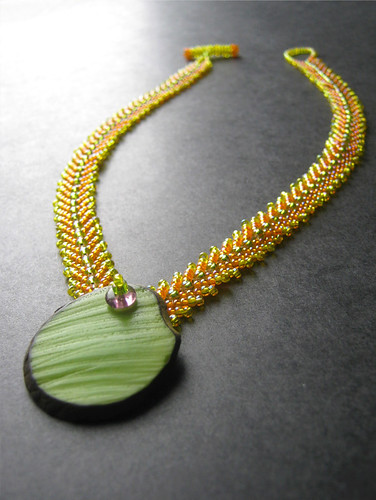 Tropical Fruit Necklace by The Sage's Cupboard