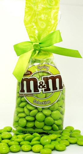 Milk Chocolate M&M's Spring Selection in Green