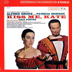 K is for Kiss Me Kate (epiclectic) Tags: music art vintage album vinyl retro jacket cover lp record sleeve soundtrack 1959 collectin epiclectic vinylrecordsatoz