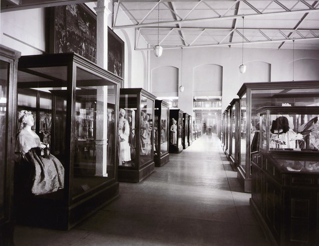 First ladies gowns displayed in the Collection of Period Costumes exhibition about 1930 by national museum of american history