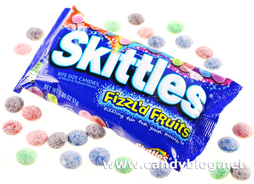 Skittles Fizzl'd Fruits
