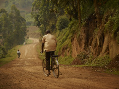 Upper Kisiizi, Rukungiri District, Uganda (weesam2010) Tags: africa road bike bicycle cyclist african olympus soil dirt cycle uganda nationalgeographic ugandan greatphotographers kisiizi rukungiri geoafrica