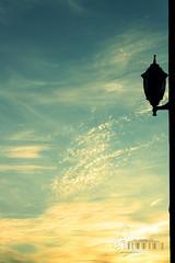 Hope get well soon ~ (- M7D . S h R a T y) Tags: sunset sky cloudy wordsbyme sillhouetteart allrightsreserved
