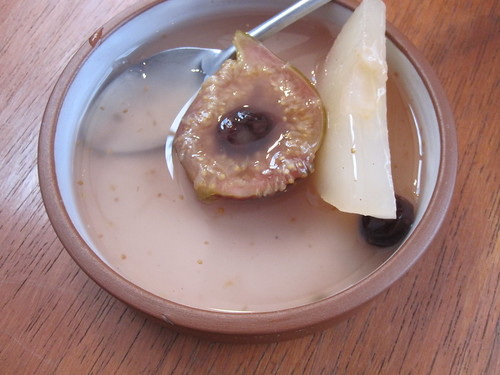 Fig and Pear Dessert