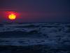 Sunrise on a gloomy day (qnr) Tags: nps corpuschristi volunteer nationalparkservice 2010 usaunitedstates padreislandnationalseashore txtexas 10millionphotos 2pair 200000000stagelovers seaturtlerestorationproject seaturtlepatrolseason walkingpatrol