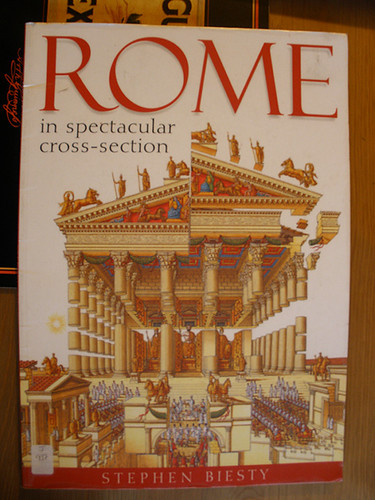 H had a lovely library book on Rome