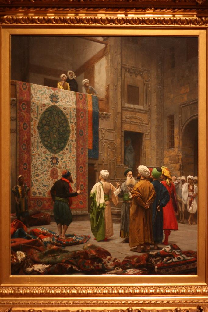 """""""The Carpet Merchant"""", Gerome"""