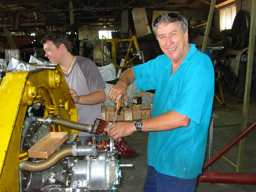 Pratt and Whitney Engine Rebuild at the AHSNT Workshop May 2004