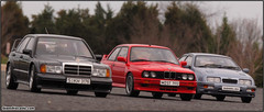 M3 Sport Evo vs 190E 2.5-16 Evo II vs Sierra RS Cosworth (Gian's Diecasts) Tags: baby cute cars ford sports sport puppy puppies flickr european