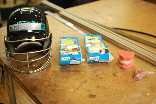 Mouth helmet supplies