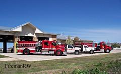 Hutto, TX FD (FiremanRW) Tags: ford engine brush firetruck pierce tender tanker kenworth