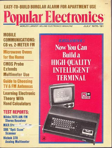 Popular Electronics, July 1976