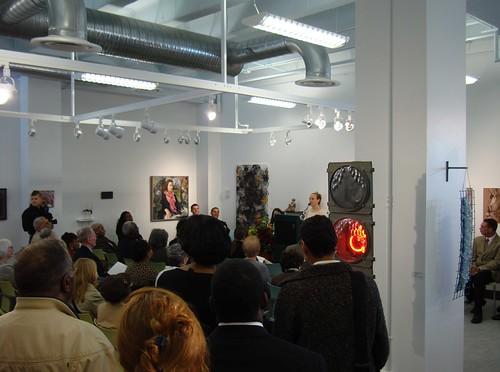 Ani Kasten Speaking for Resident Artists