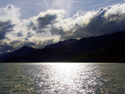 Sun over Wakatipu