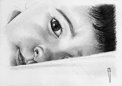 pablo in bed- finished (rafanav) Tags: portrait art pencil drawing lapiz navarro rafa dibujo matita disegno bleistift zeichnung
