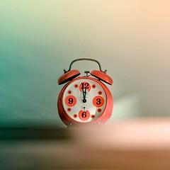 Cuba Gallery: Retro / vintage / alarm clock / time / typography / orange / photography