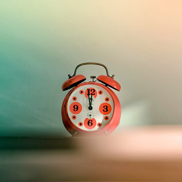 Cuba Gallery: Retro / vintage / alarm clock / time / typography / orange / photography