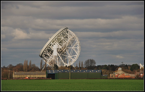 Jodrell Bank.Waiting for the reply.5 images