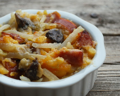 Cheesy Kielbasa Potato Bake 2