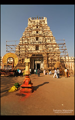 Sri Ranganathaswamy Temple Entrance | Mysore (get2shaan) Tags: canon temple eos 1855mm mysore srirangapatna ranganathaswamy 1000d