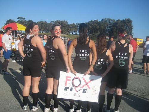 Fox Force Five team