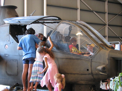 Darwin Aviation Museum Open Cockpit Day April 2008