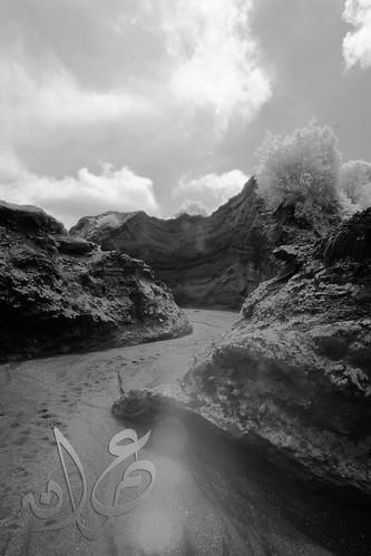 Bromo Canyon (IR B&W)