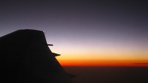 Sunset over Sudan